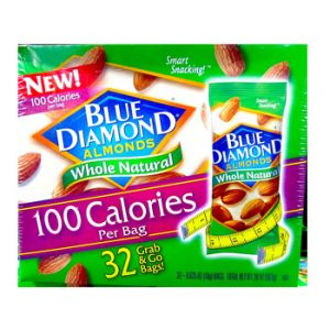 Blue Diamond Whole Natural Almonds 32ct