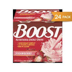 Boost Hi Protein Strwbrry 24/8 oz