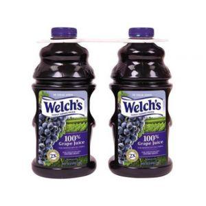 2 Pack - Welch's Heart Healthy Grape Juice 64 oz