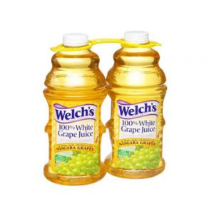 2 Pack - Welch's White Grape Juice 64 oz