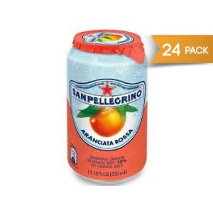 San Pellegrino Sparkling Blood Organge - 11oz Cans  - 24 Pack