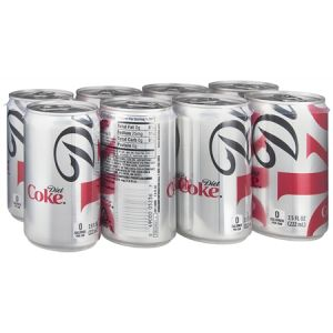 8 Pack - Diet Coke 7.5 oz