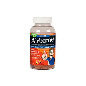 Airborne Gummies. Immune system support. 75 CT