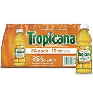 Tropicana Orange Juice 10 oz - 24 Pack