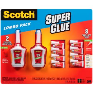 Scotch Super Glue Combo Pack
