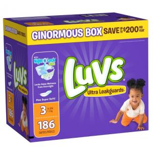 Luvs Diapers Size 3 186ct