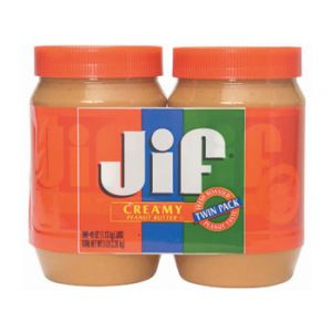 Jif Creamy Pnut Butter 2/48 oz