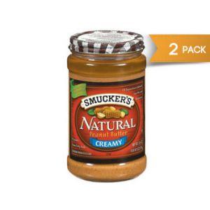 Smucker's Nat. Peanut Butter 2/26oz
