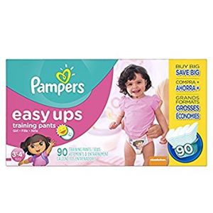 3T-4T Pampers Easy Ups Girls Diapers - 90 Pack