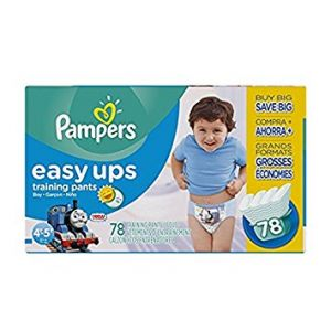 4T-5T Pampers Easy Ups Boys Diapers  Size 4T-5T