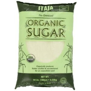 Itaja Organic Fine Granulated Sugar - 10 lbs