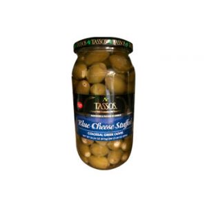 Tassos Blue Cheese Olives 20.5 OZ