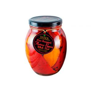 Tassos Red & Yellow Roasted Peppers 36.5 OZ