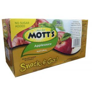 Mott's Snack & Go Apple Sauce Pouch 3.2oz - 16 Pack