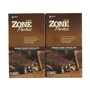 Zone Perfect Dark Chocolate 2 Boxes of 12ct