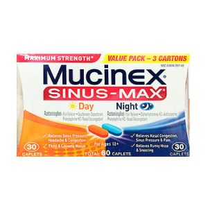 Mucinex Sinus-Max Day/Night 60 CT