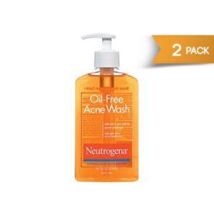 Neutrogena Oil Free Acne Wash 9.1 oz - 2 Pack