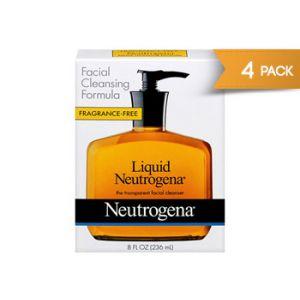 Neutrogena Liquid 8 oz - 4 Pack