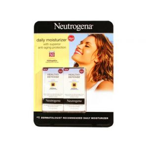 Neutrogena Healthy-defense 1.7oz Moisturizer - 2 Pack