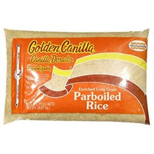 Golden Canilla Parboiled Rice 10 lbs.