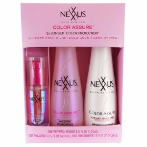Nexxus Color Assure Hair Care 3 Pack