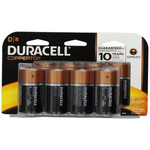 Duracell D Alkaline Batteries - 12 Pack