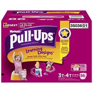 3T-4T Huggies Pull-Ups Girls Diapers