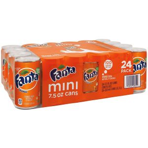 Fanta Orange Can Soda 12-OZ - 20 Pack