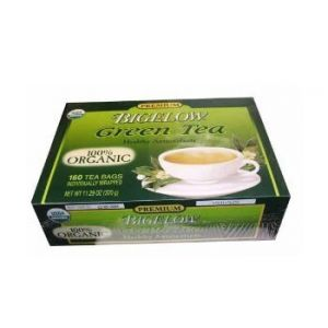 Bigelow premium green tea 160 teabags
