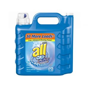All Oxi Active Liquid Laundry Detergent 225 oz