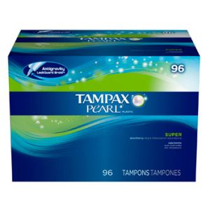 Tampax Pearl Super Unscented 96 ct