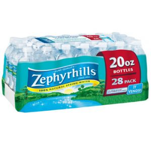 Zephyrhills Water 20 oz - 28 Pack