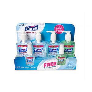 Purell Hand Sanitizer Value Pack - 6 Sanitizers