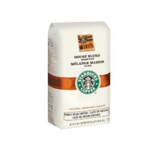 Starbucks House Blend Whole Bean 40 Z
