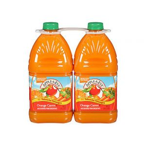 2 Pack - Apple & Eve Orange Carrot Juice 96 oz