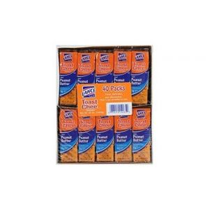 Lance Cheese And Peanut Butter Cracker 40ct