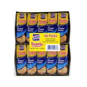 Lance Toasty Peanut Butter Cracker 40ct