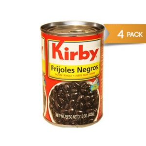 Kirby Black Beans 15 oz - 6 Pack