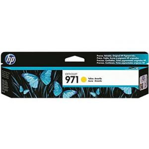 HP 971 Officejet Pro X Yellow Ink Cartridge (CN624AM)