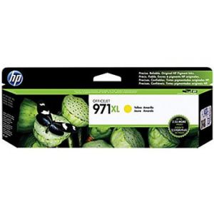 HP 971XL Officejet Pro X Yellow Ink Cartridge (CN628AM), High Yield