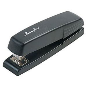Swingline Full-Strip Stapler, 15 Sheet Capacity, Black