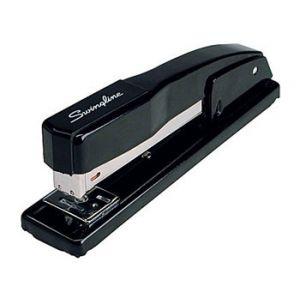Swingline Commercial Desktop Full Strip Stapler, 20 Sheet Capacity, Black