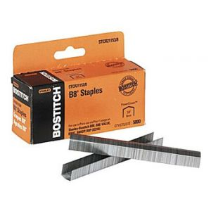 Stanley Bostitch B8 PowerCrown™ Premium Staples, 3/8 - 5,000 Staples