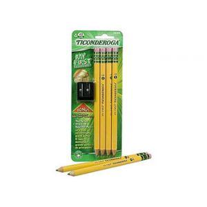 Dixon Ticonderoga Large Pencil Kit - 4 Pack