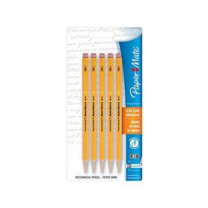 Paper Mate Sharpwriter Mechanical Pencils, .7mm, Yellow Barrel - 5 Pack