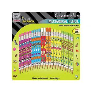 Zebra Cadoozles Fun Mechanical Pencils - 28 Pack