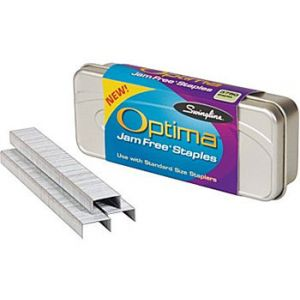 Swingline Optima Premium Staples, 1/4 - 3,750 Staples