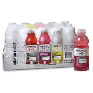 Glaceau Vitamin Water Zero Variety - 20 Pack