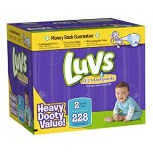 Luvs Diapers Size 2 228ct