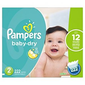 Pampers Baby Dry Diapers Jumbo Pack - Size 2